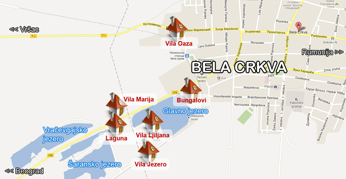 Bela Crkva Mapa Superjoden